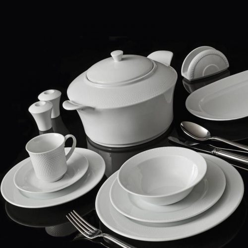 Serwis zestaw obiadowy BERGA 12 osobowy 83 TLG.