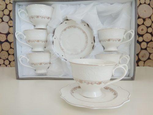 Serwis do kawy / herbaty ROLAND Rodos Gold 6 osobowy