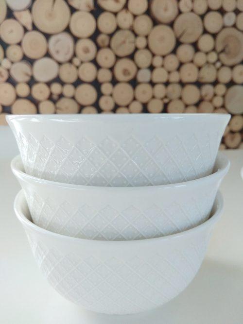 Zestaw misek 6 sztuk porcelana